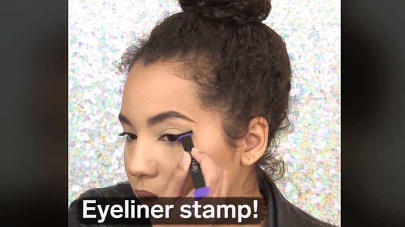 Le tampon Eyeliner, une astuce pour vos yeux